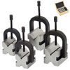 8 pc V-BLOCK & CLAMP DOUBLE SIDED 90° MACHINIST TOOL