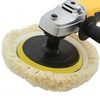 "9""  VELCRO WOOL BUFFER WHEEL PAD BONNET AUTO POLISHER"