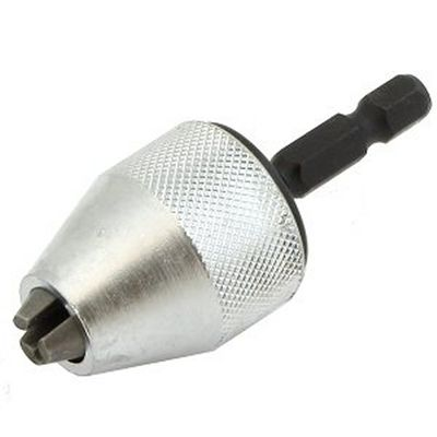 1/4 MINI Snap In Hex Shank KEYLESS Electric DRILL CHUCK