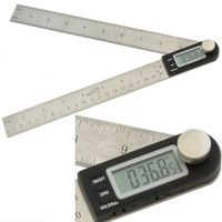 "8"" DIGITAL ELECTRONIC PROTRACTOR MITER ANGLE FINDER RULE"
