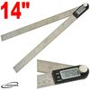 "12"" DIGITAL ELECTRONIC PROTRACTOR MITER ANGLE FINDER RULE"