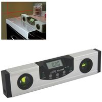 ELECTRONIC DIGITAL LASER LEVEL ANGLE INCLINE PROTRACTOR