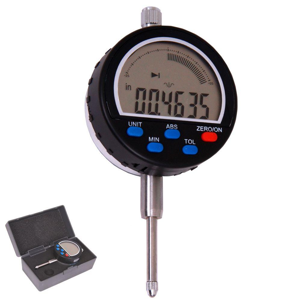 Dial Indicator Remote Display Digital : Quot travel digital electronic indicator