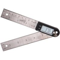 "7"" Digital Electronic Protractor Miter Angle Rule Gage 4"" Blades"