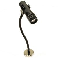 HIGH INTENSITY LED ZOOM LIGHT MAGNETIC BASE