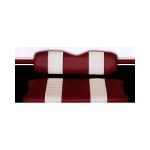 Vinyl Seat Cover, two-tone, staple-on (set)