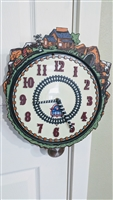 LIONEL train station anniversary wall clock