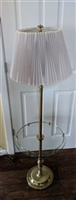 STIFFEL 49 inch floor lamp with glass tray