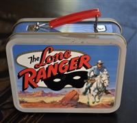 Lone Ranger advertising Cheerios tin lunchbox