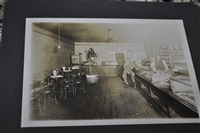 VIntage black and white bar photograph