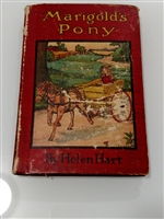 Marigold's Pony book with misprint blank pages