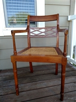 Hayat Bros Ltd vintage Rosewood hall chair