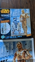 Star Wars Photomosaics Puzzle C3PO R2D2 2015