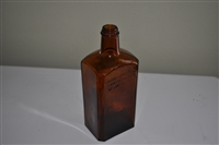 Bodegas vintage alcohol bottle
