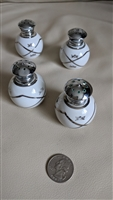 Vintage plastic salt and pepper shakers set