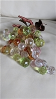 Large plastic grape cluster colorful decor