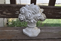 Cast Iron door stopper with Roses