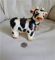 Wax Cow candle vintage