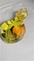 Spoon rest acrylic lucite clear coat with fruits