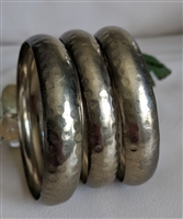Bangle bracelet in set of three