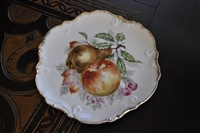 Japanese decorative plate with fruit decor Dee Bee