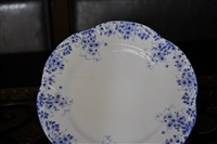 Salad Plate in Dainty Blue by Shelley