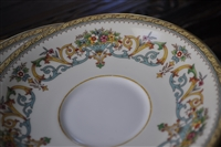 Henley by Aynsley English porcelain saucer set