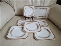 Maddock Kingsley English porcelain plates