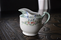 Floral lusterware creamer made in Japan