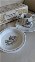 Beatrix Wedgwood Nursery porcelain set