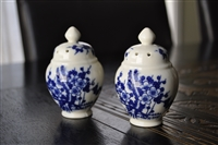 Porcelain URN salt and pepper shaker Japan