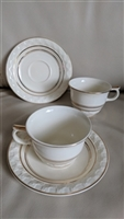 Taylor Smith Taylor 1930 Golden Jubilee tea cups