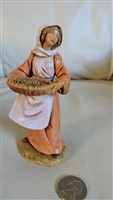 Fontanini ink sign figurine Depose Italy 2003