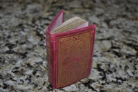 Antique miniature prayer book Daily Food
