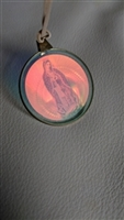 Our Lady of Guadalupe hologram pendant
