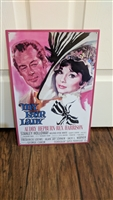 My Fair Lady advertising tin wall decoration