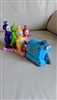 Teletubbies vintage pull and go toy with Noo Noo