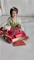Italian doll 5 inch tall in traditional costume