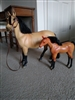 Large toy Horses set by Battat