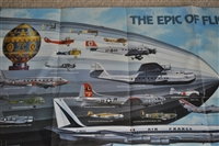 Aircrafts vintage poster