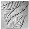 Palm Leaf Plaster Ceiling Tile