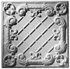 Baroque Panel Plaster Ceiling Tile