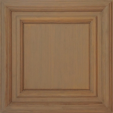 Classic Woodgrain Panel Plaster Ceiling Tile