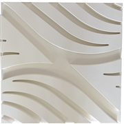 Contemporary Wave A Plaster Ceiling Tile