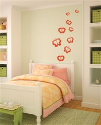 Flutterby Butterfly wall decals stickers