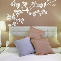 Cherry Blossom branch wall decal sticker