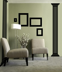 Greek Column wall decal sticker