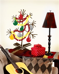 Charlie Brown Christmas Tree wall decal sticker