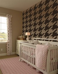 Houndstooth pattern wall decals stickers