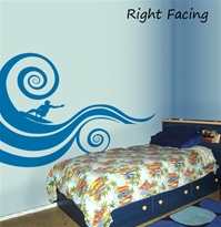 Mod Wave wall decal sticker